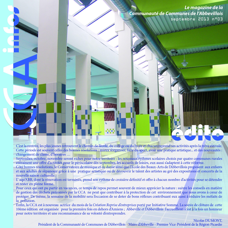 CCA infos n°03
