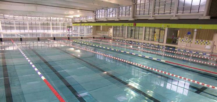 L aqu abb nouveau site en construction for Construction piscine municipale